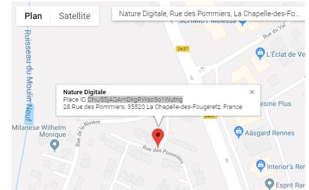 référencement local google